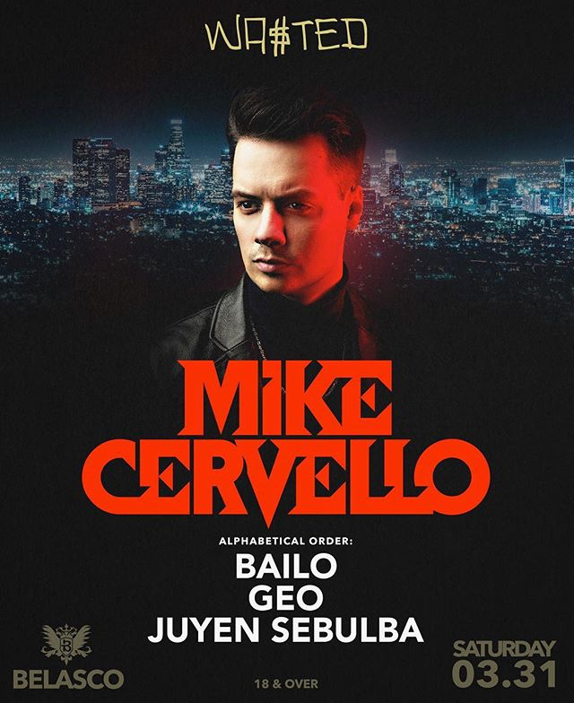 LA ARE YOU READY FOR A @barongfamily TAKEOVER?! CAUSE @mikecervello @bailomusic AND I ARE 🔥