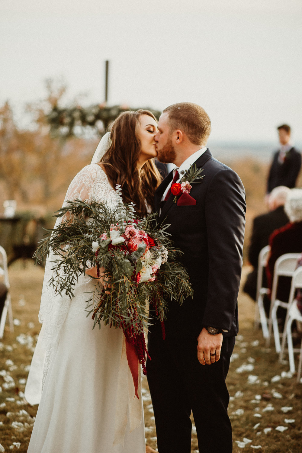 HAYLEY + BRANDON - Dreamy Mountaintop Rustic Wedding