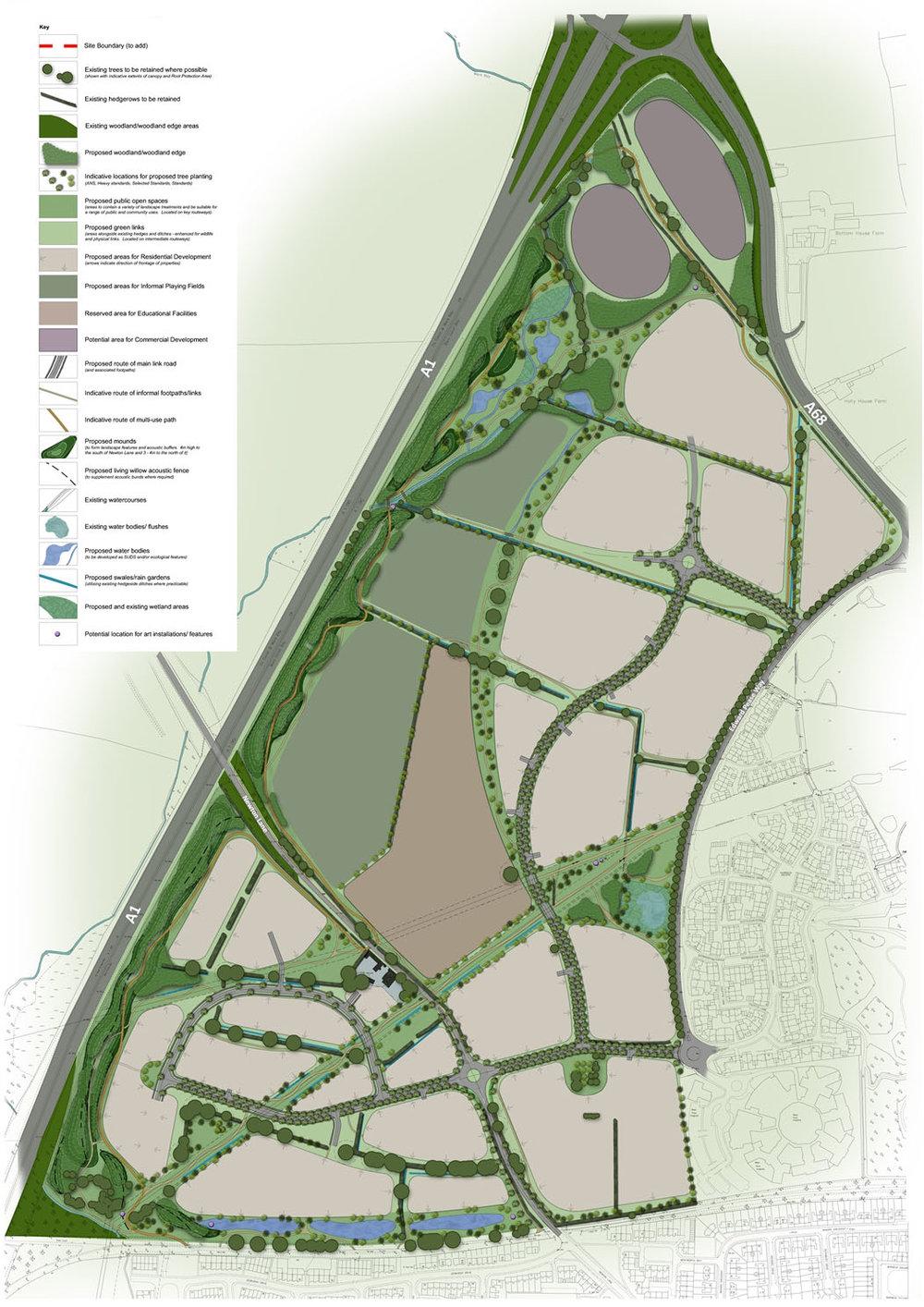 Niven - West Park Garden Village Masterplan Landscape Plan.jpg