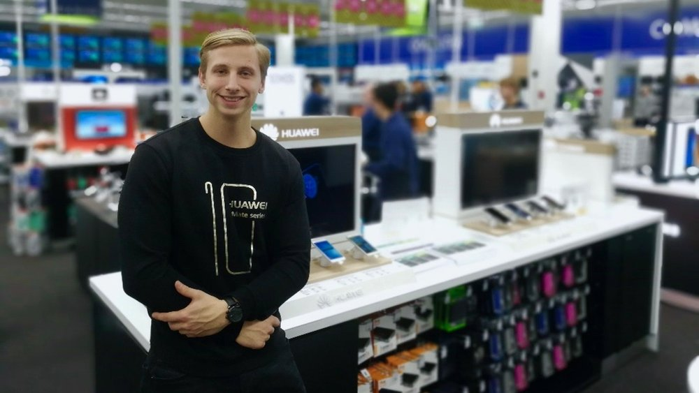 PERSONALE TIL HUAWEI CONCEPT STORE I FIELDS -