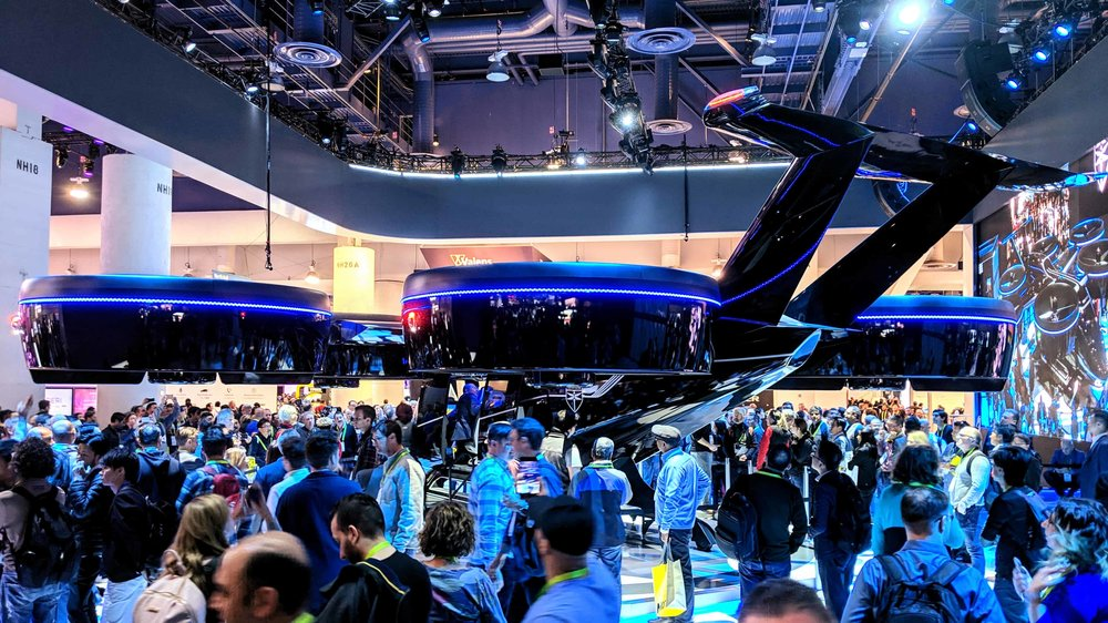 Meet the flying car by  Bell , one of many future technologies presented at CES