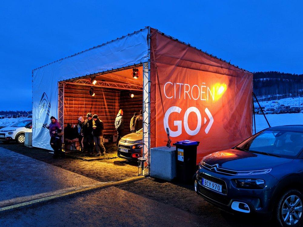 Camp Citroën - Torsby