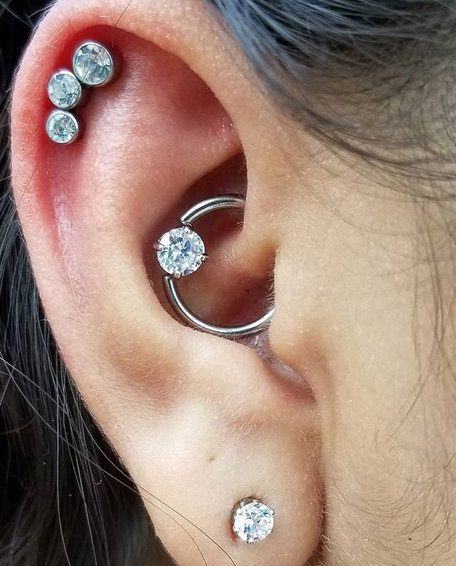 Helix and Daith Piercing by Isacc at Certified Tattoo Studios Denver, Colorado's Best Tattoo Studio.jpg