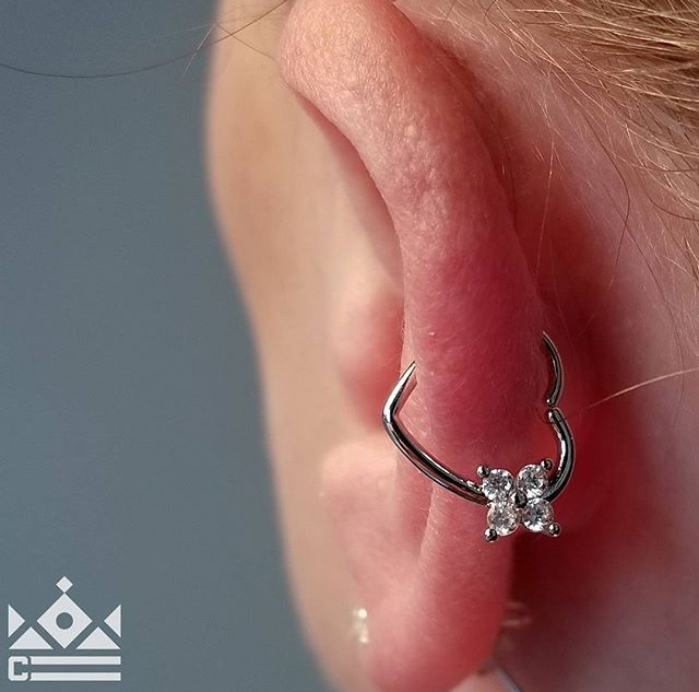 Helix Piercing by Isacc at Certified Tattoo Studios Denver, Colorado's Best Tattoo Studio.jpg