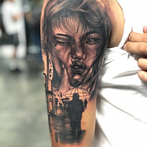 Black and Gray Portrait Tattoo by Cobra at Cerified Tattoo Studios.jpg