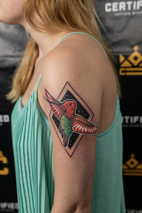 Color Bird Tattoo by Hannah  at Certified Tattoo Studios.jpg