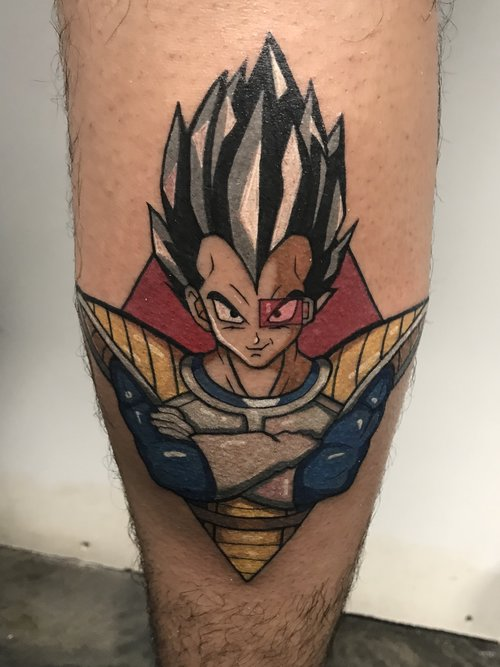 Color Dragon Ball Z Tattoo by Hannah  at Certified Tattoo Studios.jpg