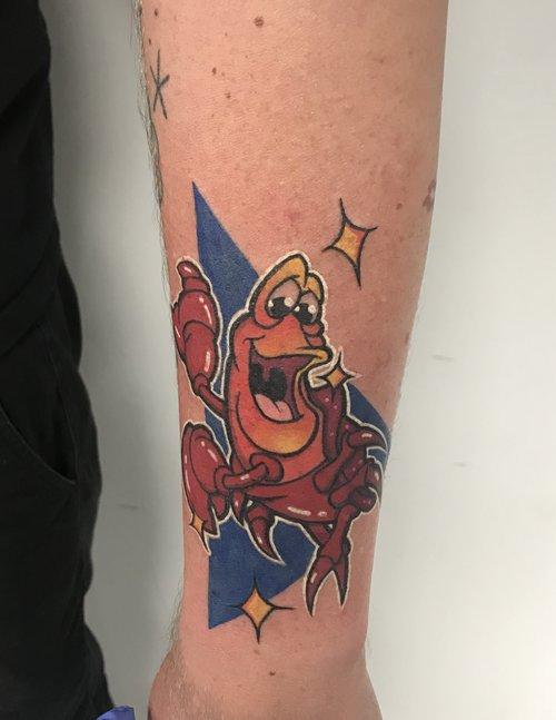 Color Little Mermaid Tattoo by Hannah  at Certified Tattoo Studios.jpg