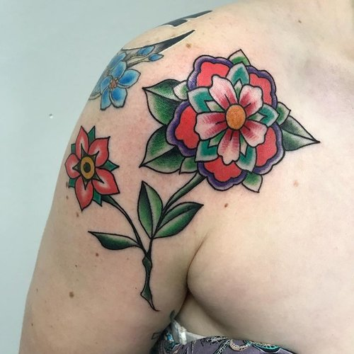 Color Traditional Tattoo by Jorden  at Certified Tattoo Studios Denver Co3.jpg