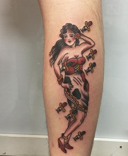Color Traditional Tattoo by Spencer at Certified Tattoo Studios Denver Co 7.jpg