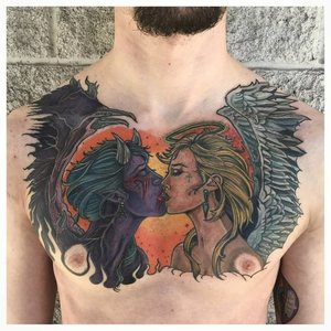 Color+Angel+and+Devil+Tattoo+by+Michael+Myers+at+Cerified+Tattoo+Studios Denver Co.jpg