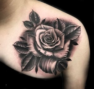 Custom Black and Grey  Wet Rose Tattoo by Salvador Diaz at Certified Tattoo Studios in Denver Co (31).jpg