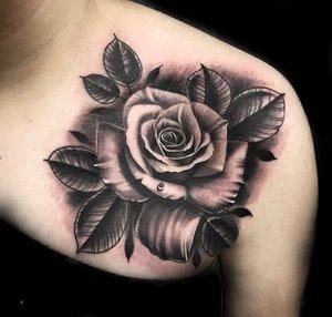 Custom Black and Grey  Wet Rose Tattoo by Salvador Diaz at Certified Tattoo Studios in Denver Co (31).jpg