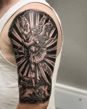 Custom Black and Grey Warrior Angel Tattoo by Salvador Diaz at Certified Tattoo Studios in Denver Co (11).jpg