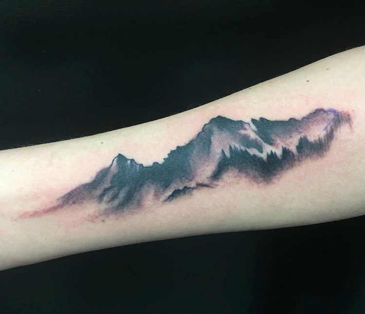 Custom Mountain Range Tattoo By Ashley at Certified Tattoo Studios Denver Co  (1).JPG