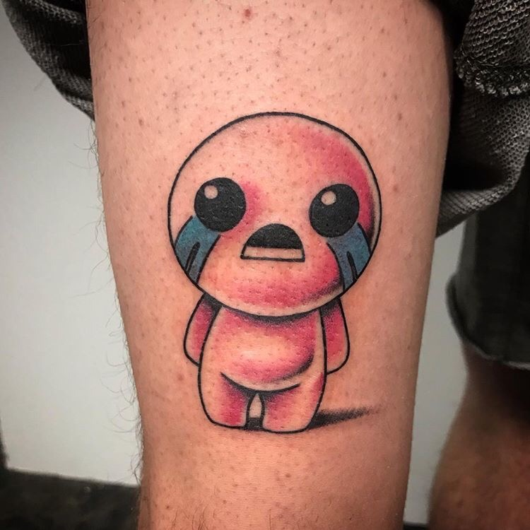 Custom Binding of Isaac Tattoo by Jon Hanna at Certified Tattoo Studios Denver Co  (9).JPG