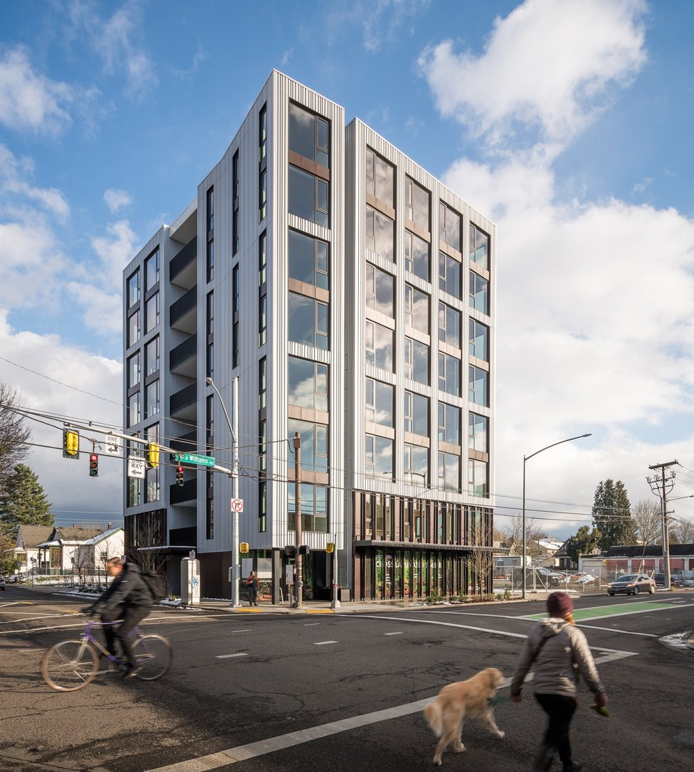 This new Portland condo tower is both sustainable and seismically strong -