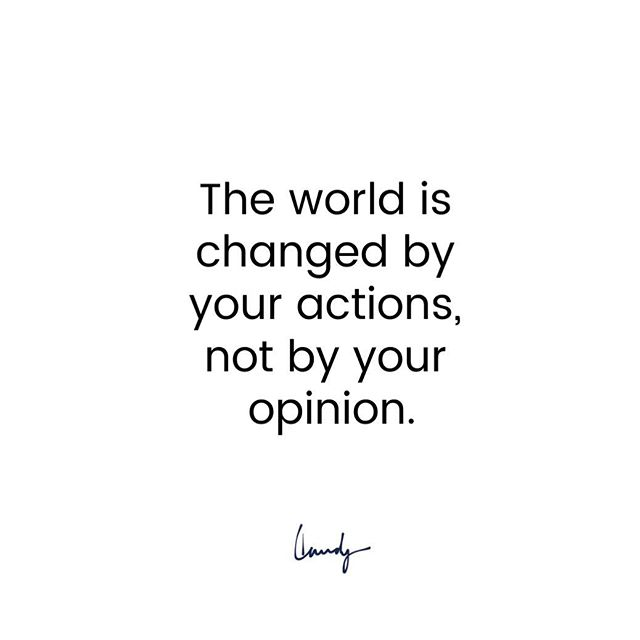 Making noise, voicing opinions and dropping comments are easy.  But change is made in action. Being consistent with taking the high road, Speaking up for the person who isn't in the room telling their side of the story, Creating impact in the lives of others.  Drop a ♥️if you're committed to making a difference. . . . . . . . . . . #positivevibes #positivequotes #positiveaffirmations #inspirationalquotes #inspo #hope #peace #wordstoliveby #wordsofwisdom #yougotthis #transformation #selflove #selfcare #lovelive #lovelife #spirituality #personaldevelopment #makeadifference #purpose #purposedrivenlife #youcandoit #makeadifference #bekind #kindness #changemaker #volunteer #contribution #philanthropy