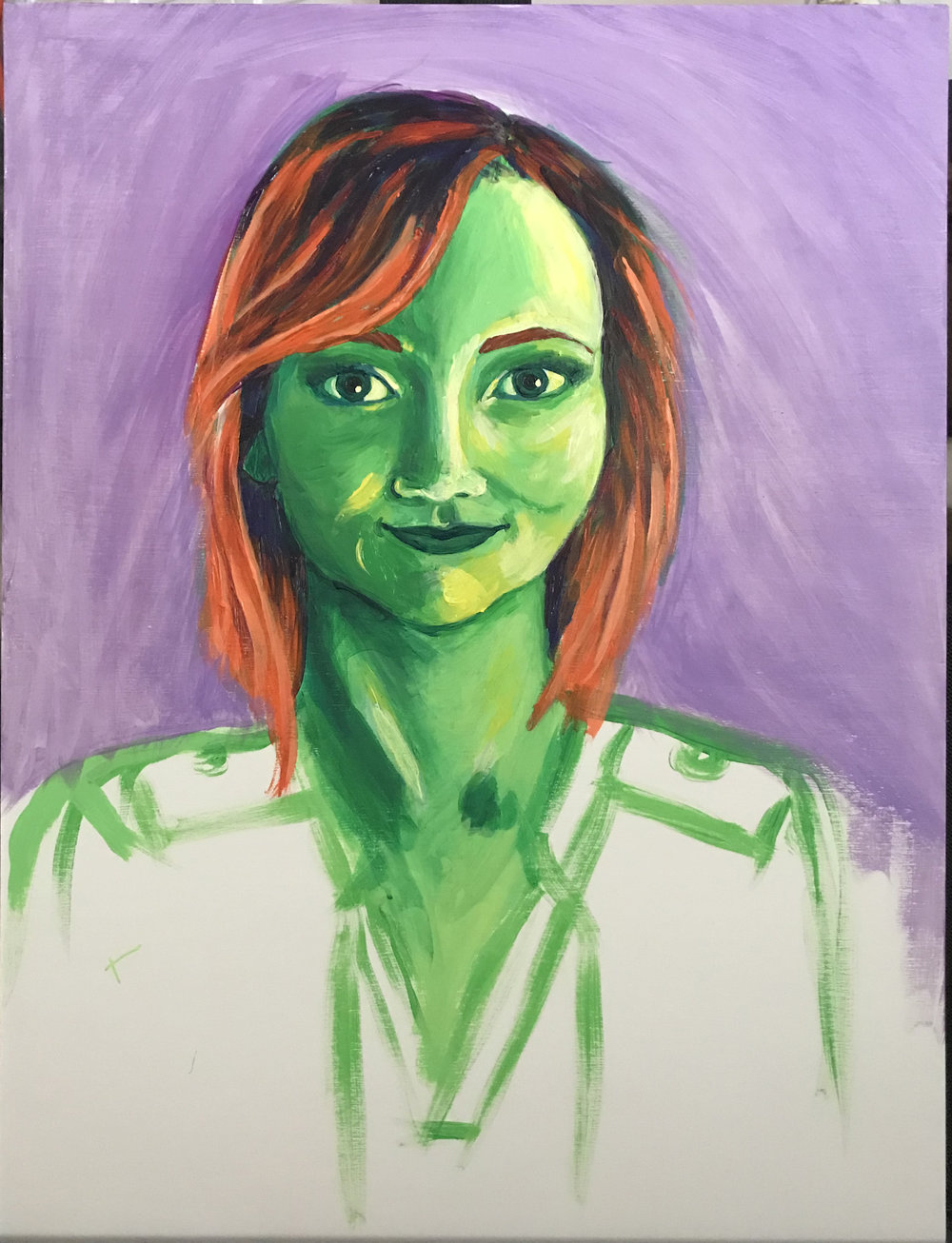Anna in Progress, 10/22/18