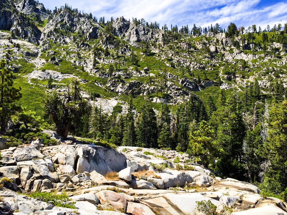 The door step to desolation wilderness