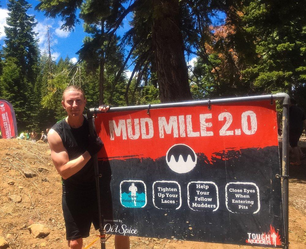 only 2.0 miles into around 11 miles
