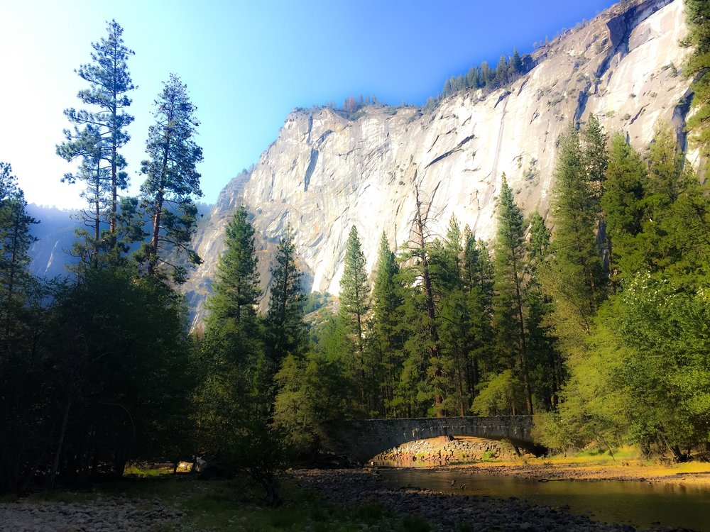 The merced river