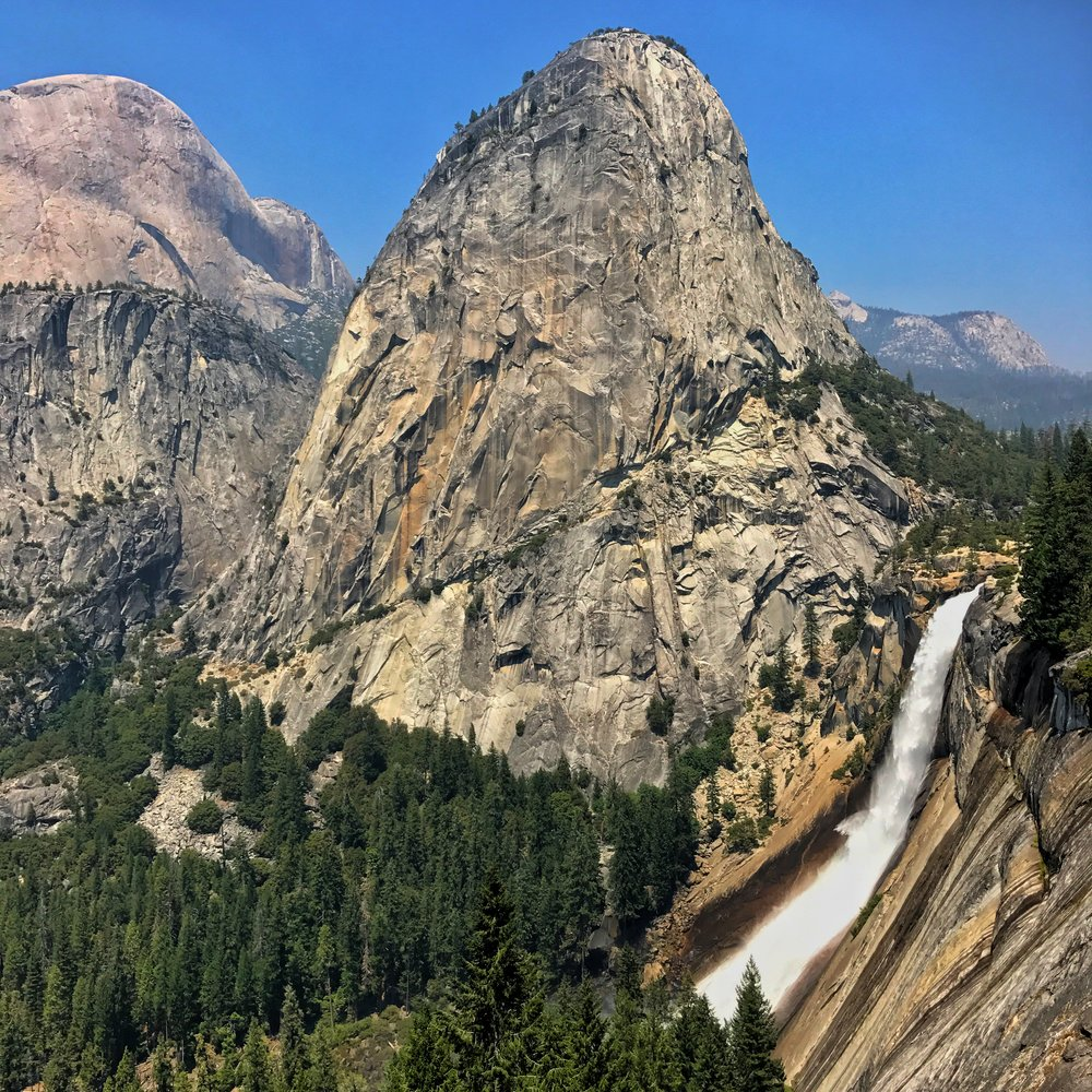 this was taken after half dome on the John Mur trail
