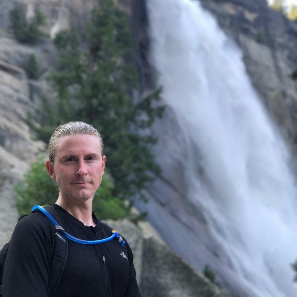 base of Nevada falls