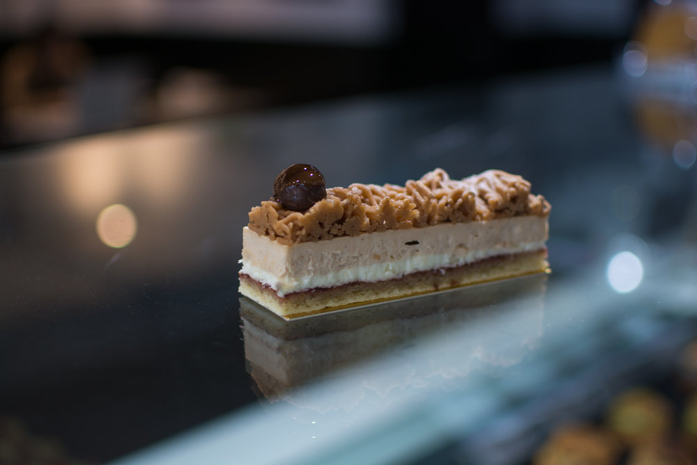 Maron Opera Cake -