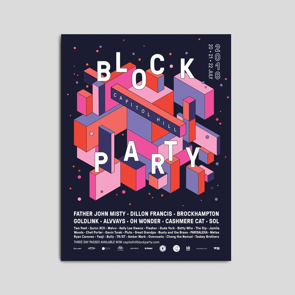 posters  — visual design + animation
