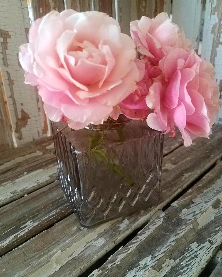 Gray Mini Vase or Lantern