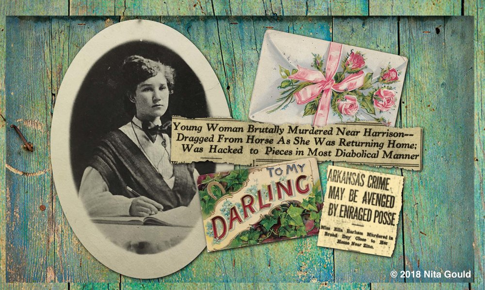 Ella Barham, two of many postcards sent to her by her admirers, and a sample of the actual newspapers printed at the time.
