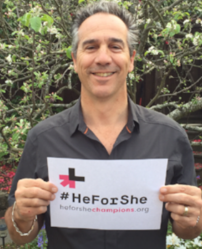 HeForShe Male Champion Of Change, 2016 awarded by UN Women of San Francisco Bay Area Chapter