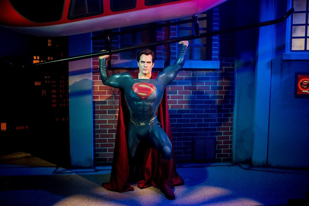 Henry Cavill as Superman is the first moving wax figure in Australia_preview.jpeg