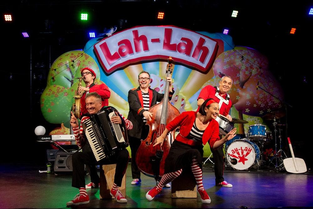 Lah-Lah and band