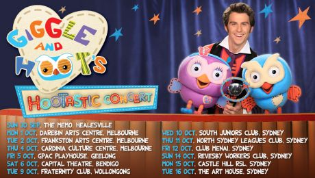 Giggle and Hoot tour dates