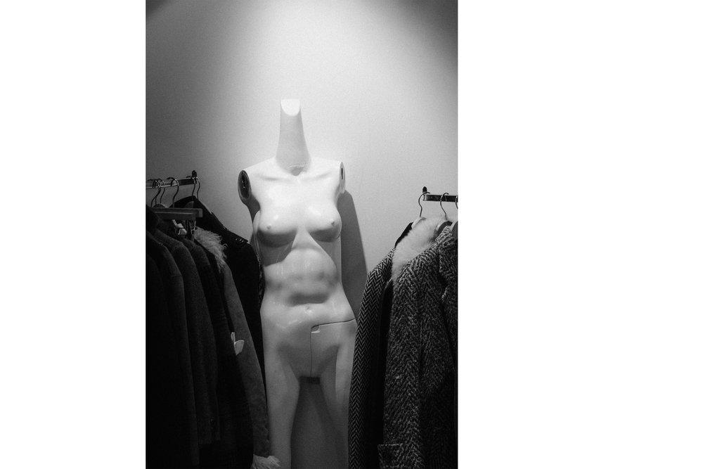 Thrift Store Body ,  New York , 2017