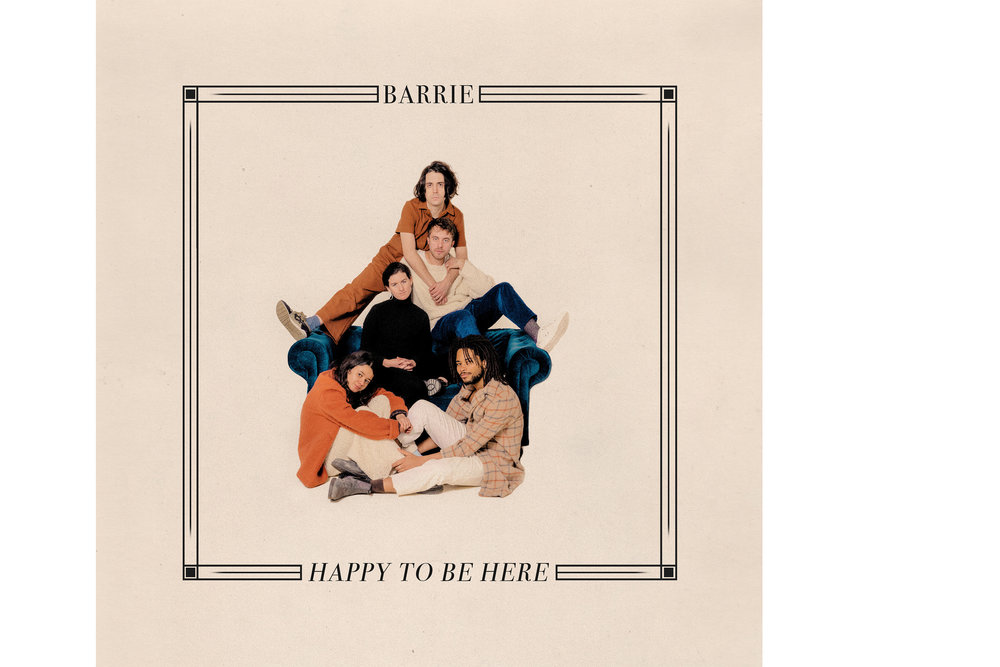 Happy to Be Here  Album Cover, 2019