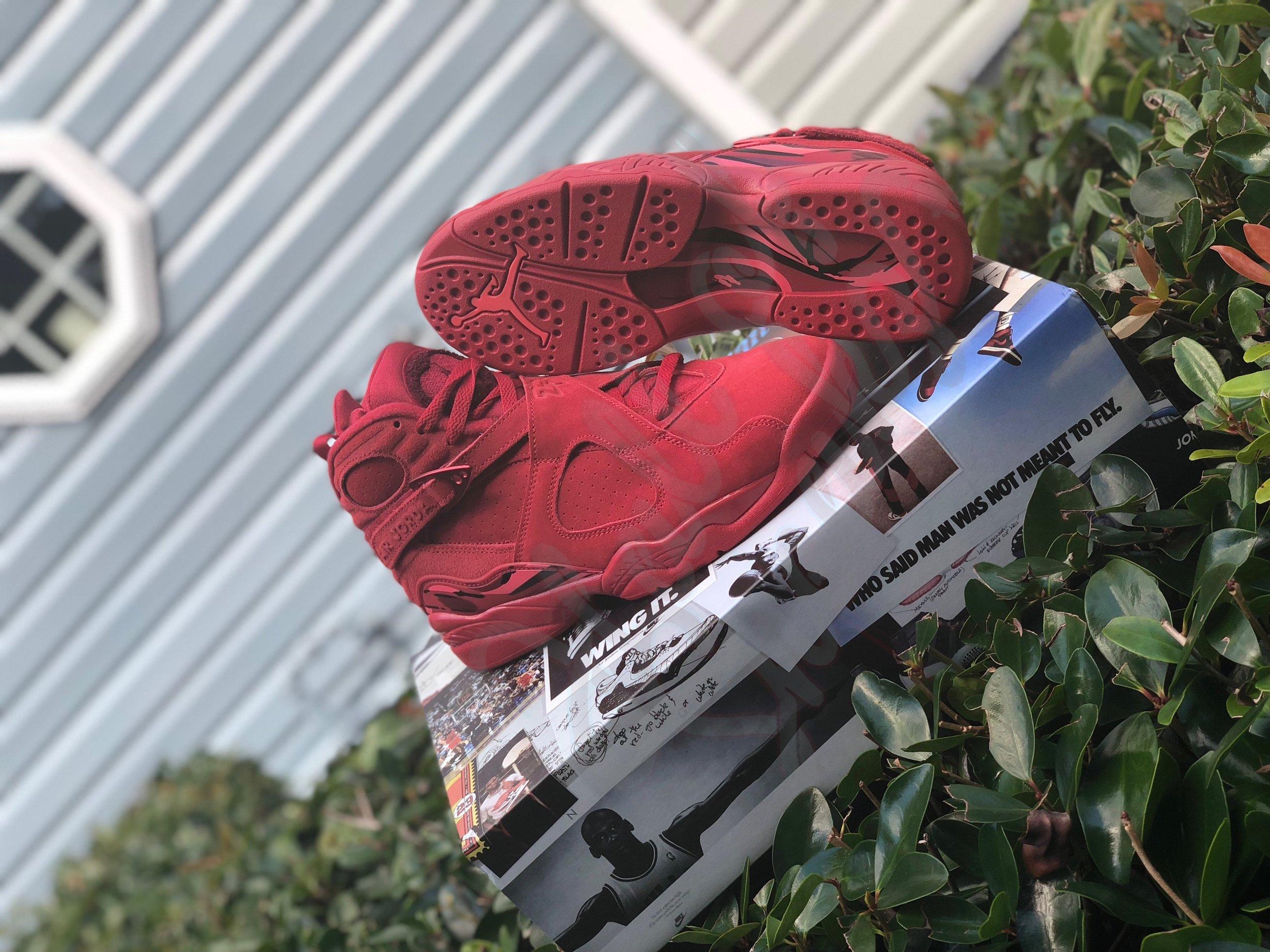 Womens Air Jordan 8 Retro Valentine S Day