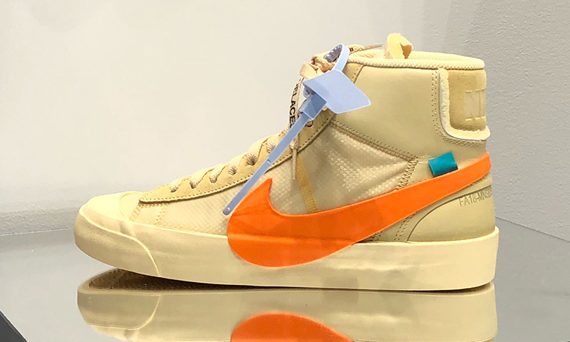 Off White X Nike Blazer Mid Spooky Pack Hallows Eve