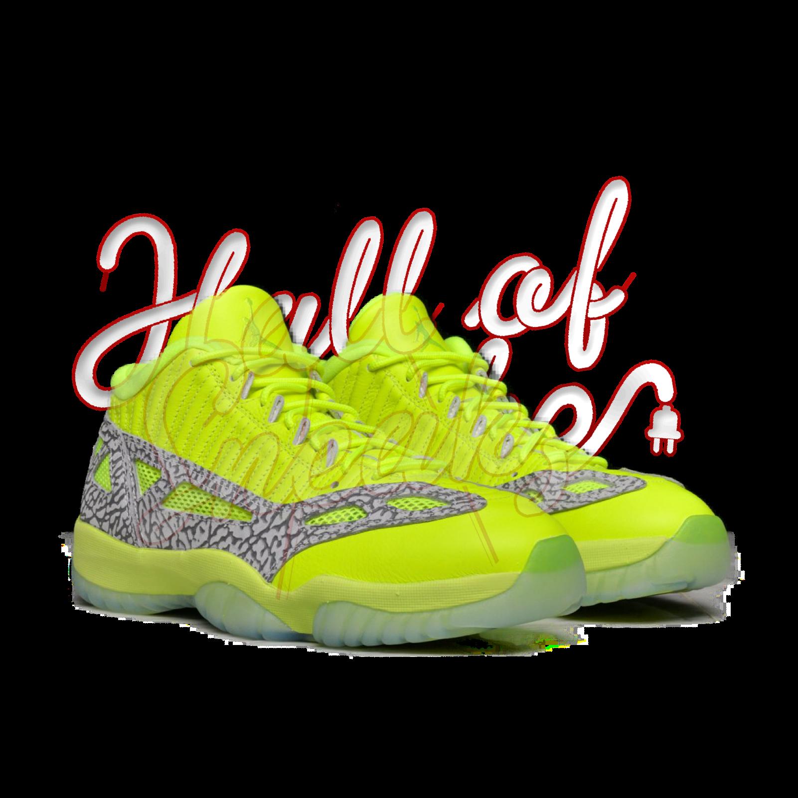 5720d612ca8 Air Jordan 11 Low IE 'Volt'