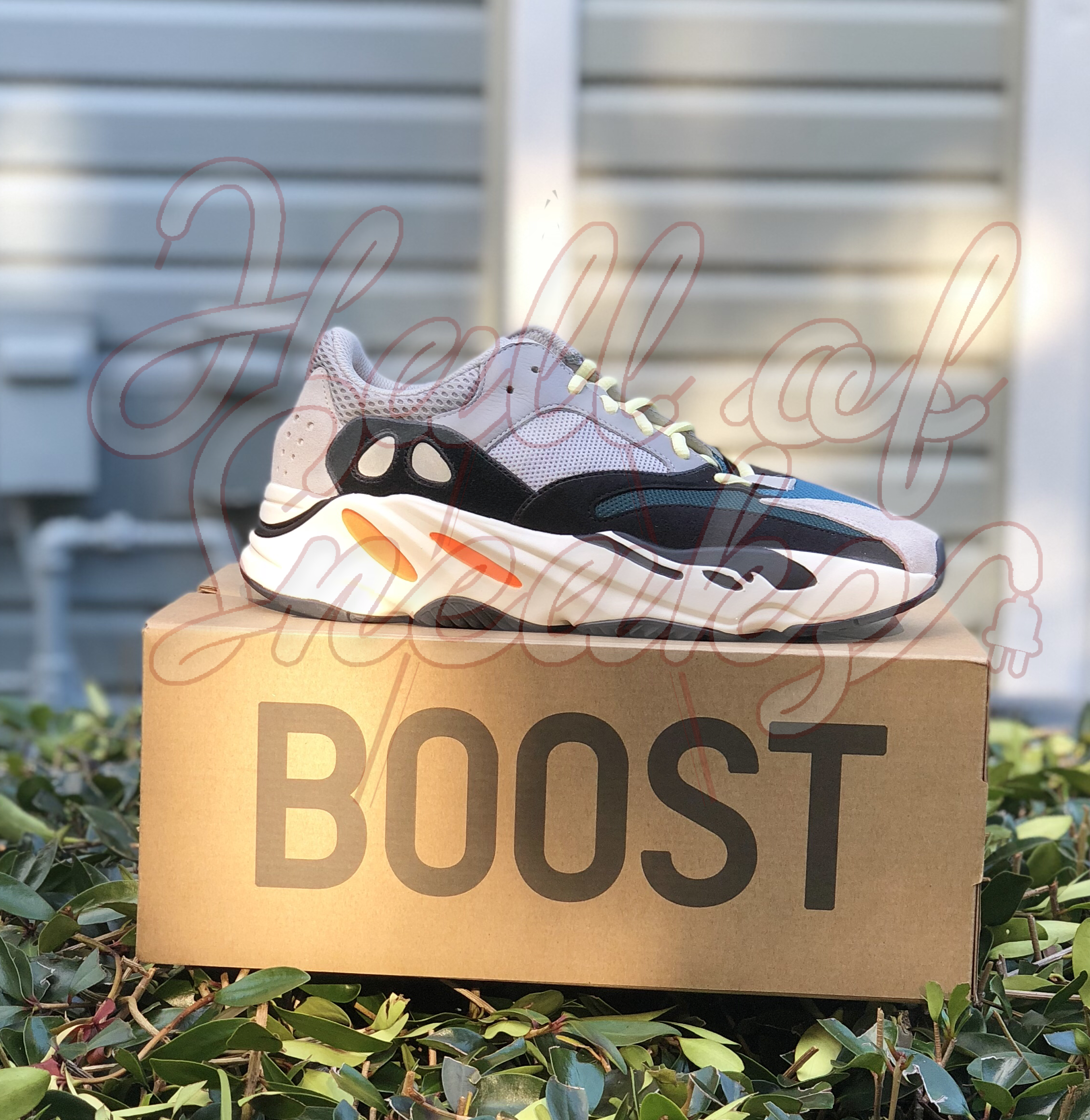 7f6143bcd Adidas Yeezy Boost Wave Runner 700  Solid Grey
