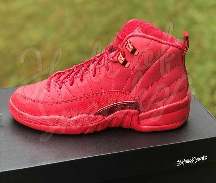 the latest 2d927 01206 Air Jordan 12 Retro -GS-  Gym Red