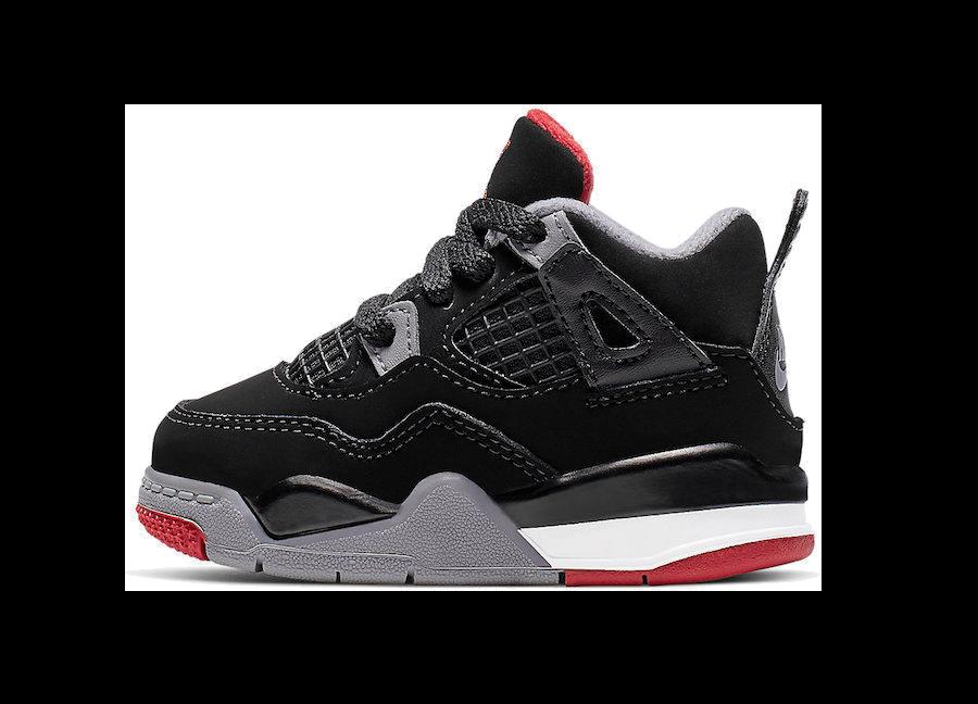 buy popular be4a6 3d337 Copy of Copy of Copy of Air Jordan 4 Retro -Men-  Bred