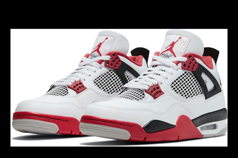 Air Jordan 4 Retro -GS- 'Fire Red'