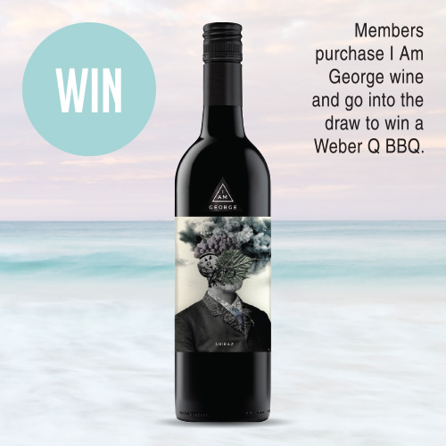 I am George Shiraz $14.99ea