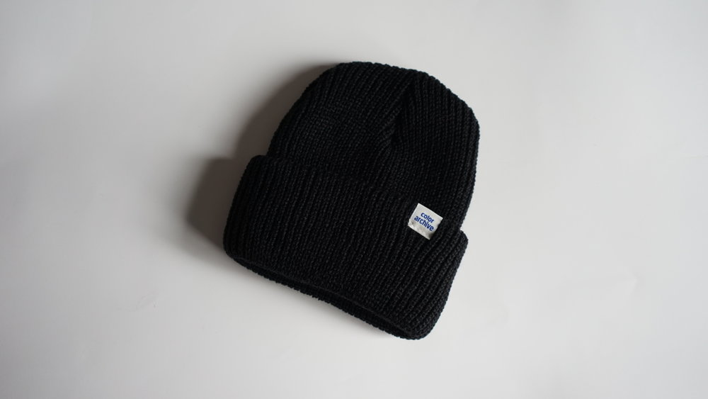HEAVYWEIGHT ACRYLIC BEANIE  MADE IN USA FROM START TO FINISH  100% ACRYLIC