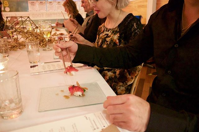 Pop-up Supper Club  Experience