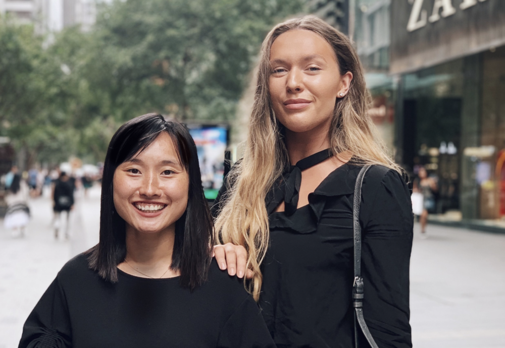Jenny Vanderhoek CEO of Mynder (left), Bella Rowley Head of Marketing at Mynder (right).