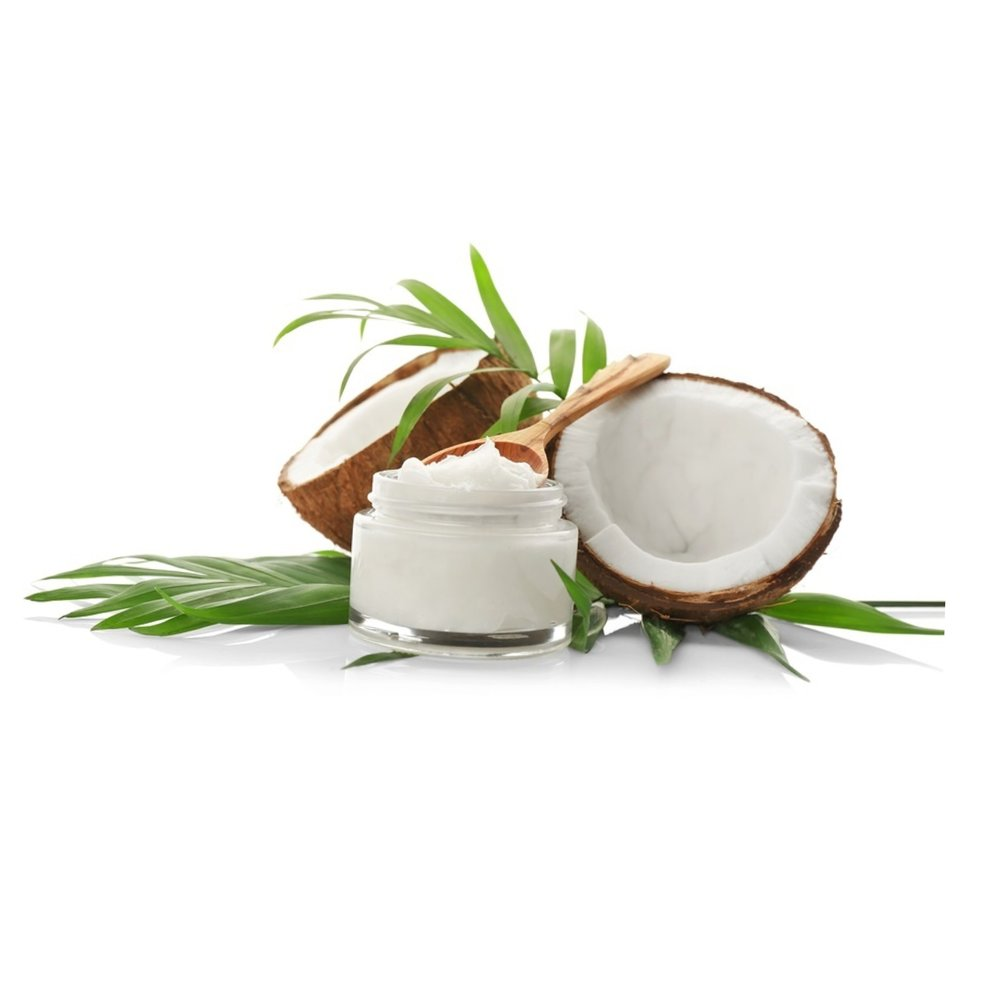 COCONUT OIL   A super-oil full of naturally present antioxidants and is an excellent antifungal, anti-inflammatory and antibacterial. It is exceptional for nourishing the hair, nails and skin.